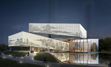 """赫尔诺中标未来深圳第一高楼""""世茂深港国际中心""""LED透明屏工程"""